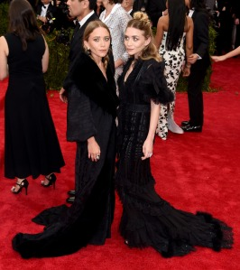 Olsen Twins in John Galliano
