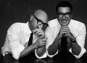 Somenico Dolce & Stefano Gabbana